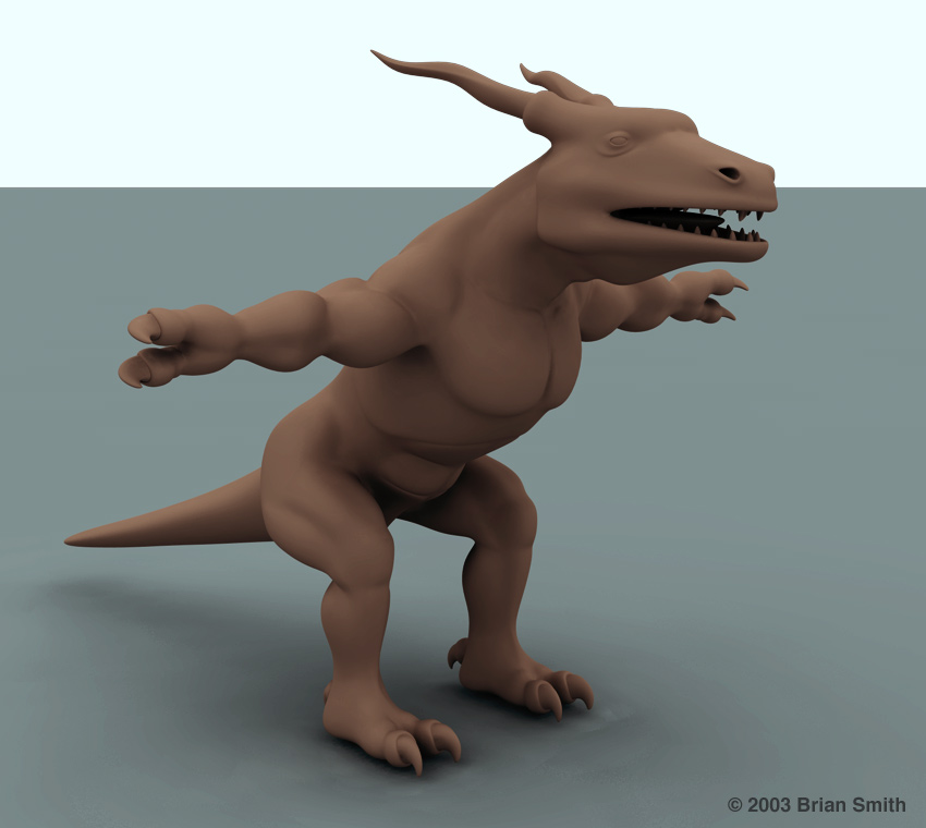 Scorch dragon render